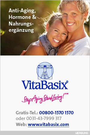 VitaBasix® –Anti-Aging, Hormone & Nahrungsergänzung