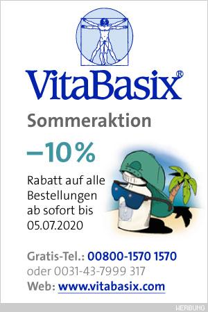 –10% Rabatt • VBX Sommeraktion 2019