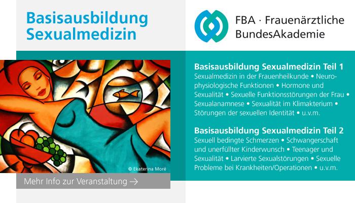 Basisausbildung Sexualmedizin Teil 2 (Hamburg 2019)
