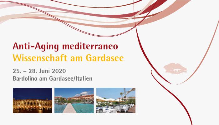 Anti-Aging mediterraneo (Wissenschaft am Gardasee 2020) – ACHTUNG: Termin wurde auf den 24.-27.6.2021 verschoben!!!