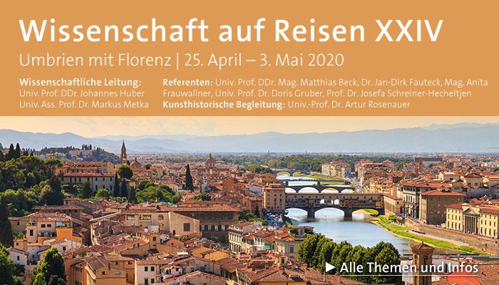 Wissenschaft auf Reisen XXIV (Umbrien mit Florenz)